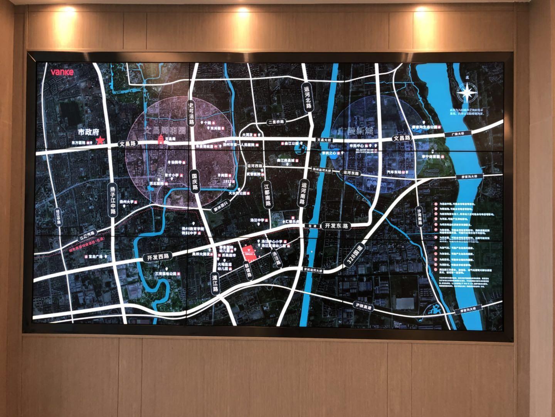 万科城市之光位置图