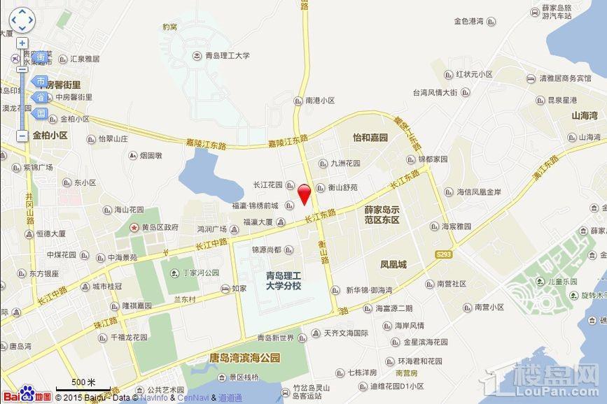 黄海悦府位置图