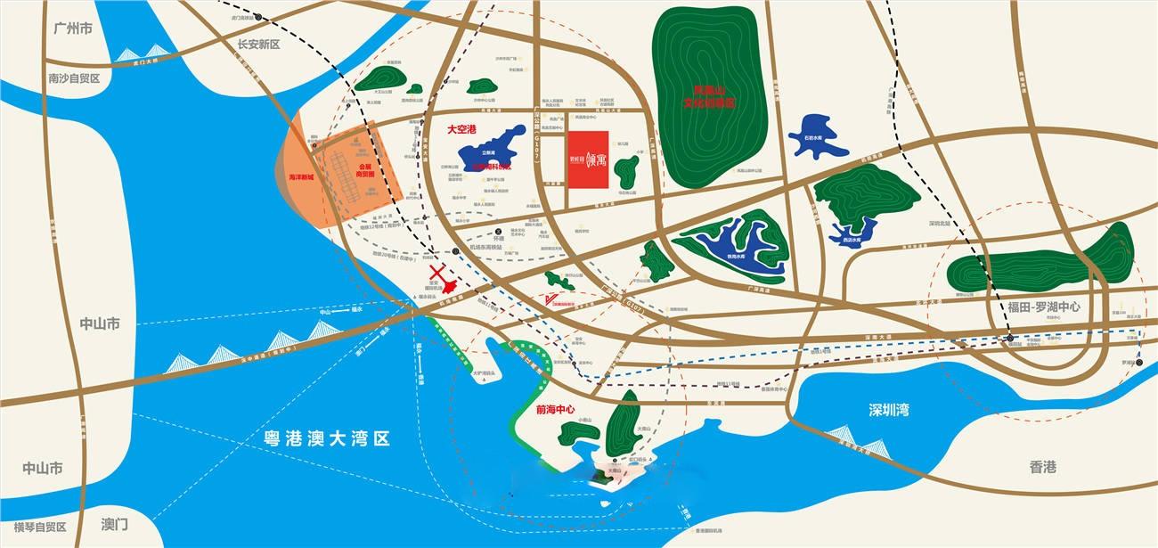 碧桂园·领寓位置图