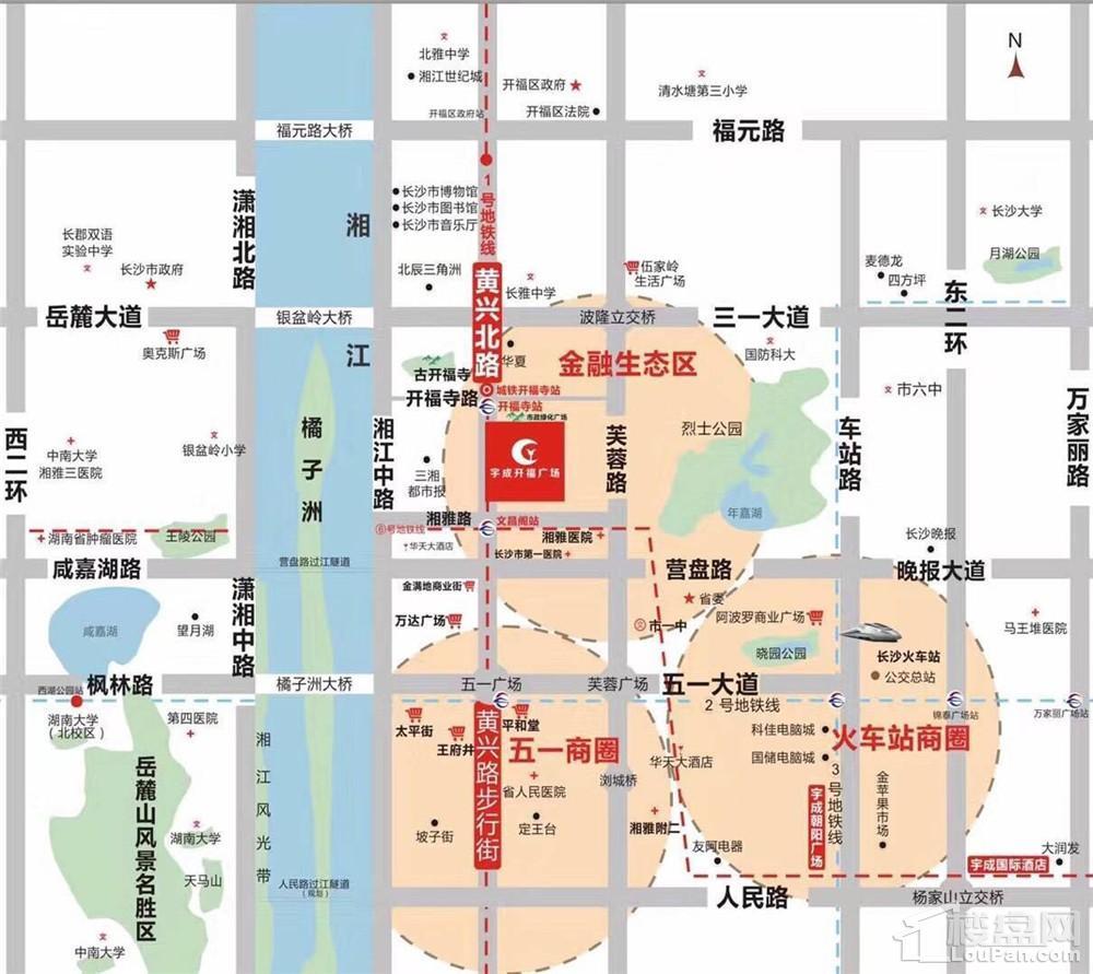 宇成开福广场位置图