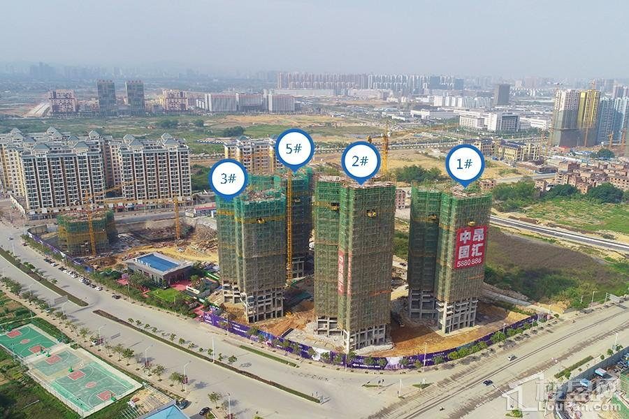 中昂国汇实景(摄于2018-4-17)