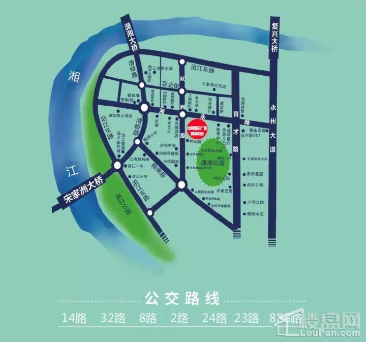 中邦世纪广场位置图