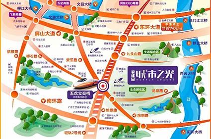 碧桂园· 城市之光位置图