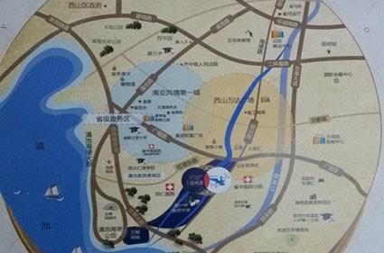 筑友双河湾位置图