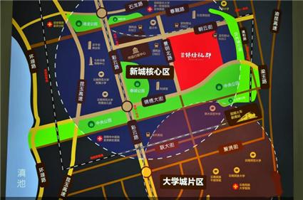 中交锦绣雅郡位置图
