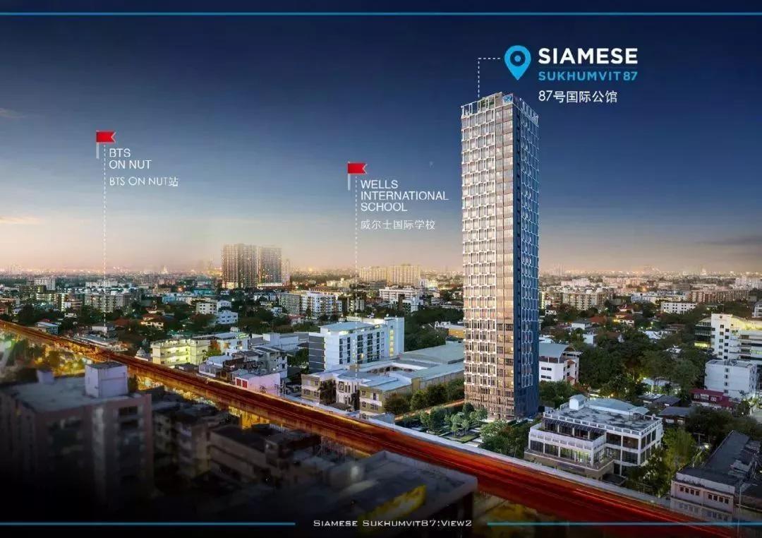 Siamese 87号国际公馆效果图