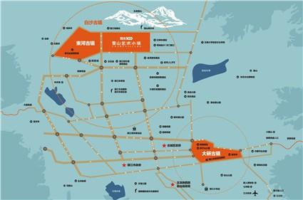 雪山艺术小镇位置图
