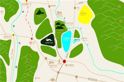 凤凰保集·伊甸园位置图