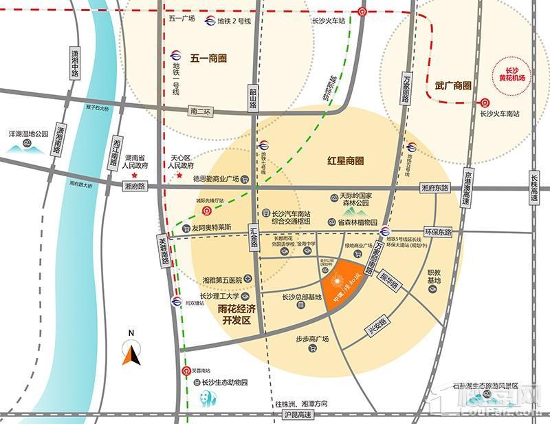 中建·璟和城位置图