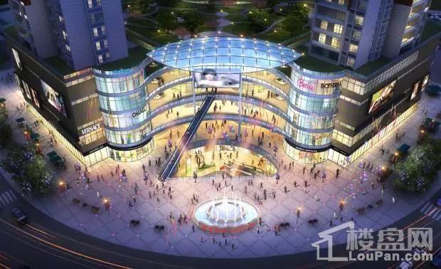 爱塞丽雅·城市广场效果图
