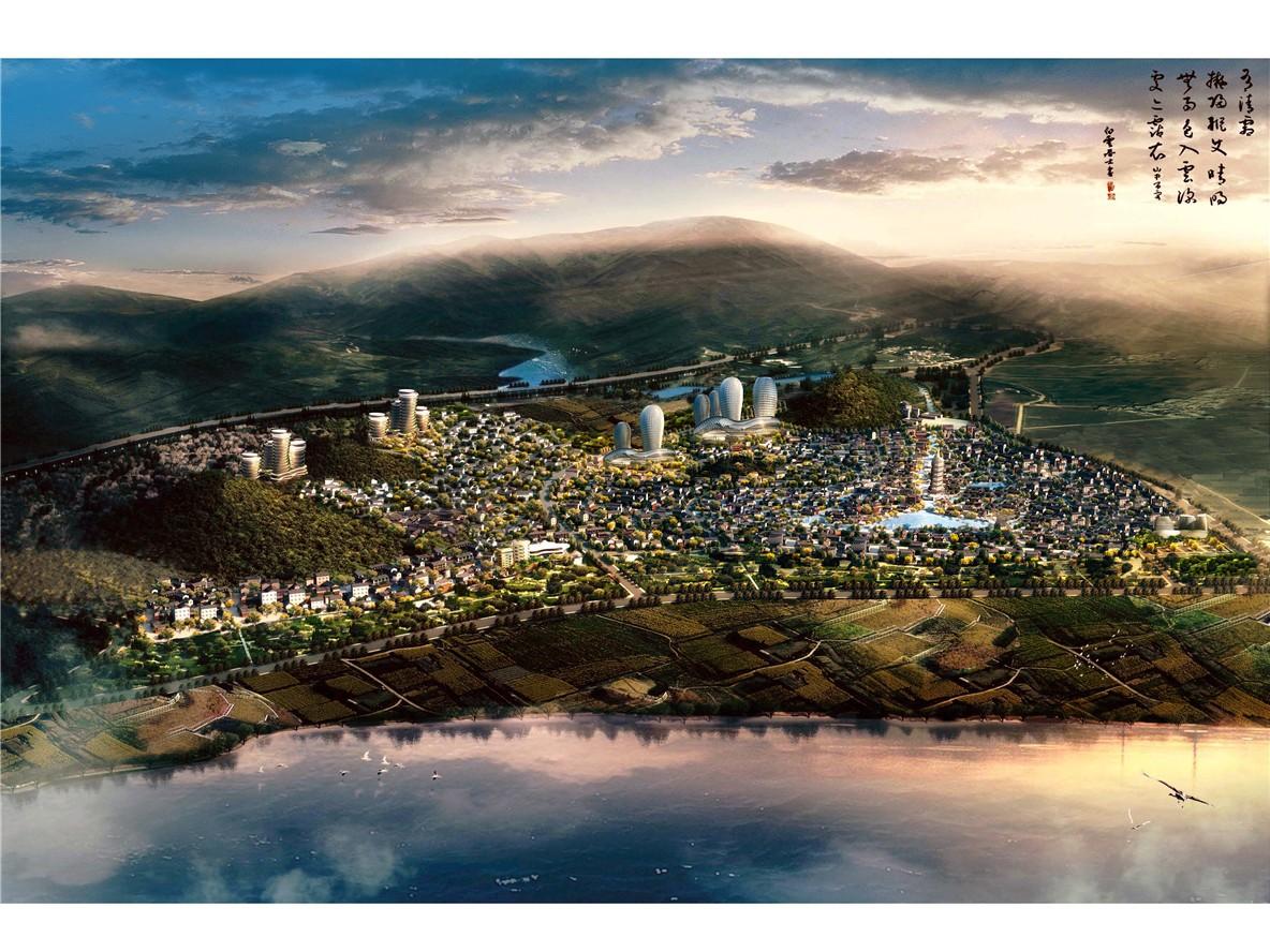 昆明抚仙湖·广龙小镇高清图