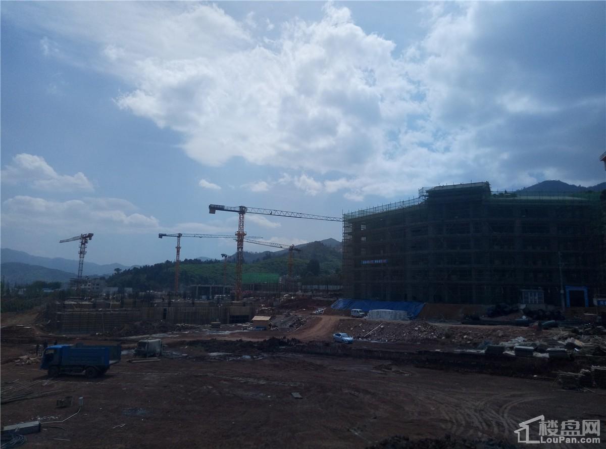 抚仙湖·广龙小镇实景图