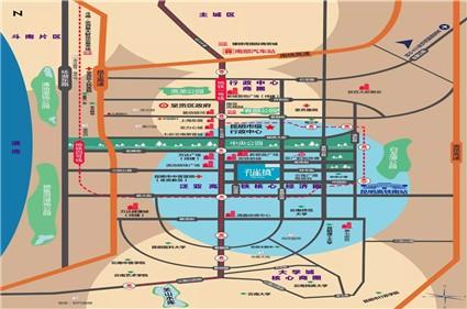 孔雀镇位置图