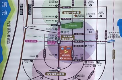 涌鑫哈佛中心位置图
