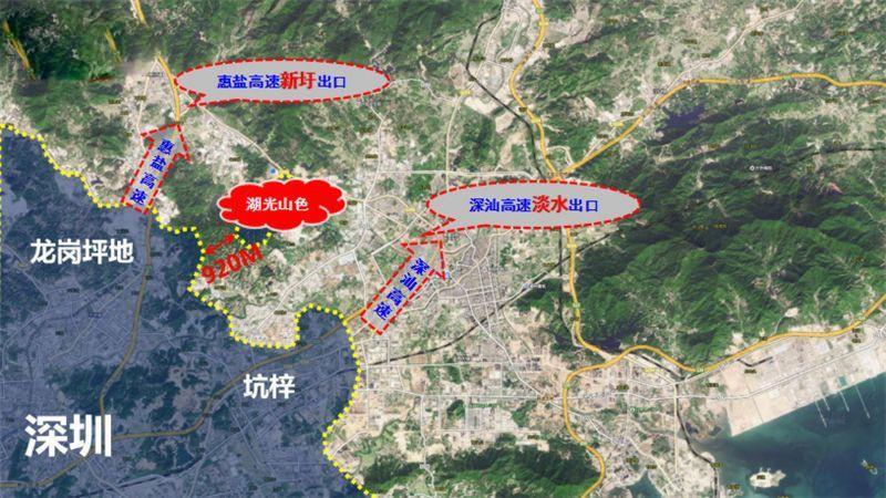 碧桂园·湖光山色位置图