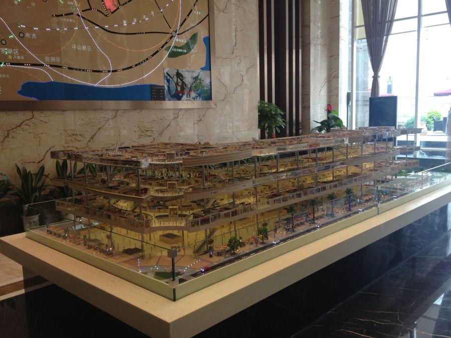 清泉城市广场实景图