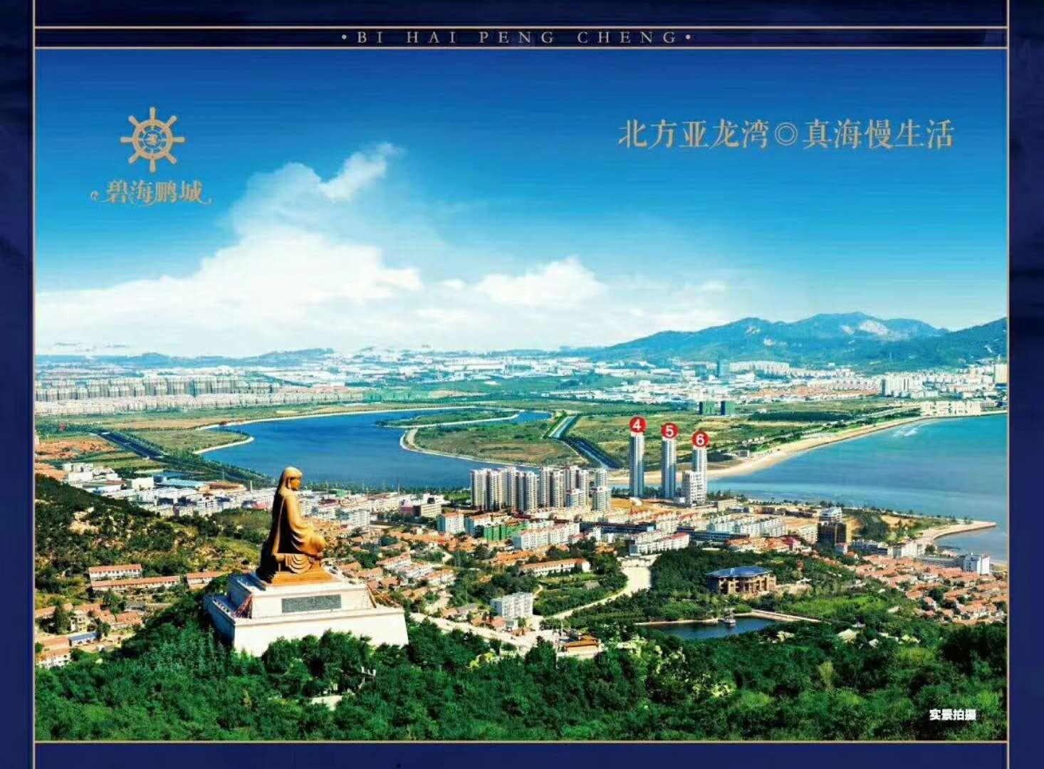 碧海鹏城实景图