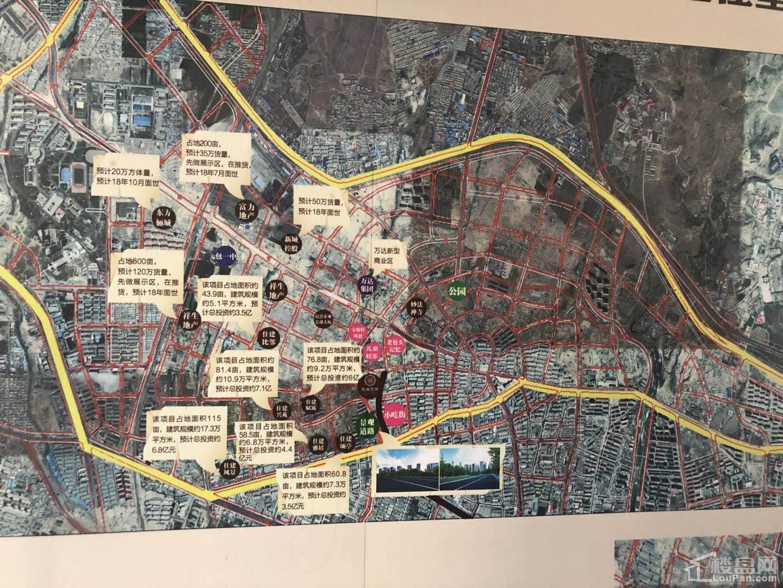 九曲花街位置图