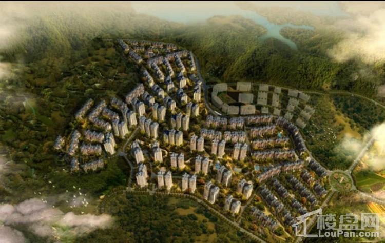 中海黎香湖效果图