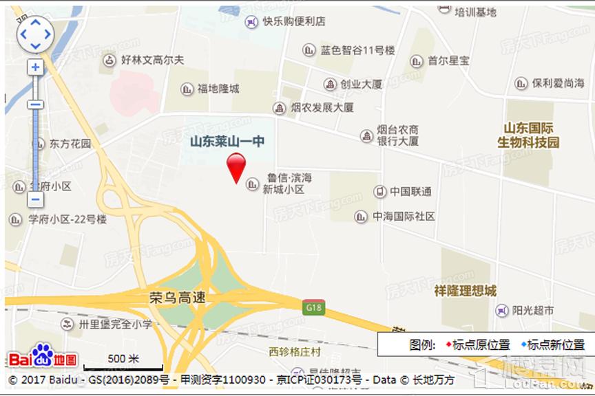 北方华和家园位置图