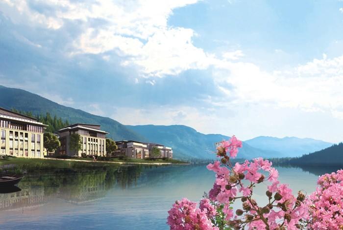 中华紫薇园·白云湖畔