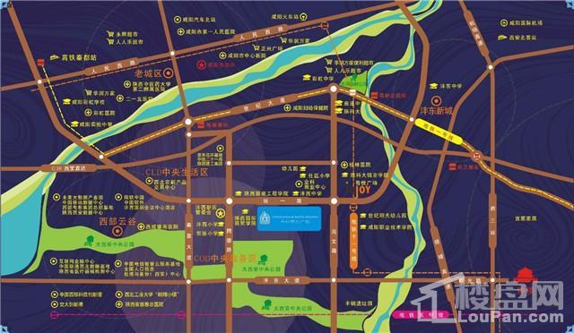 千林学府广场位置图