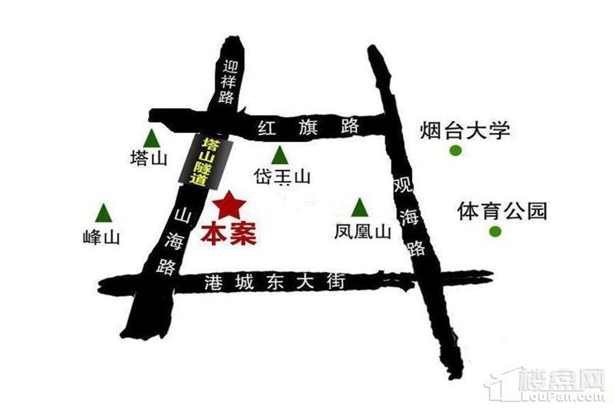 天籁中园位置图