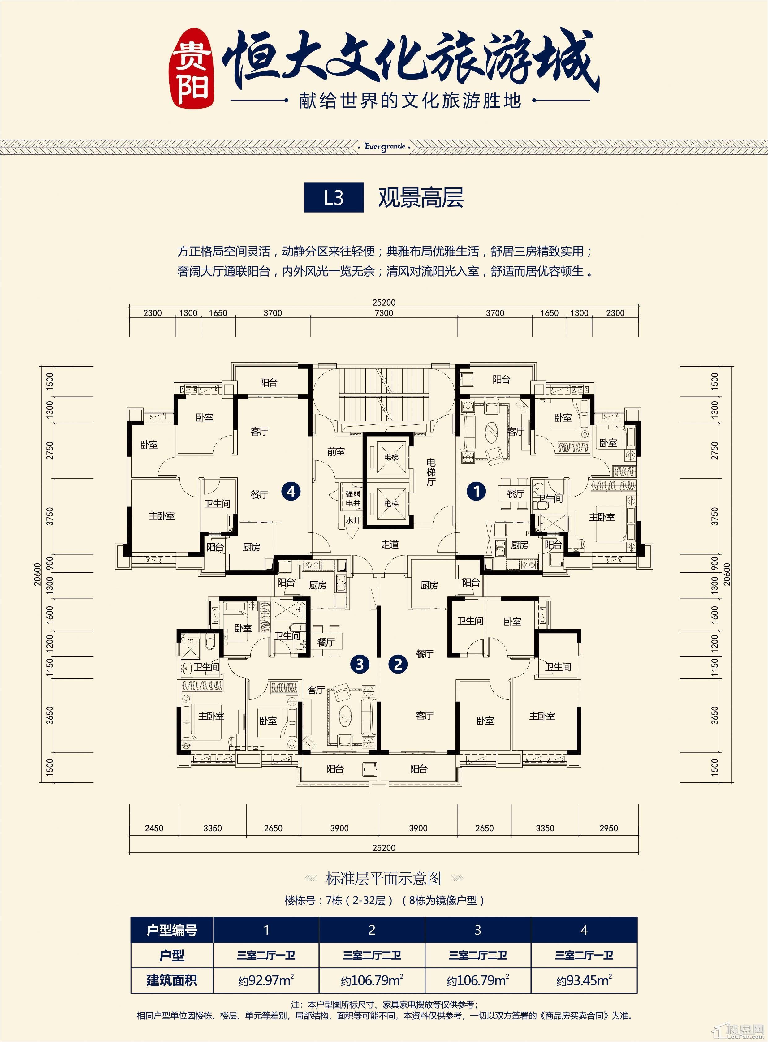 L3-观景高层(7栋)
