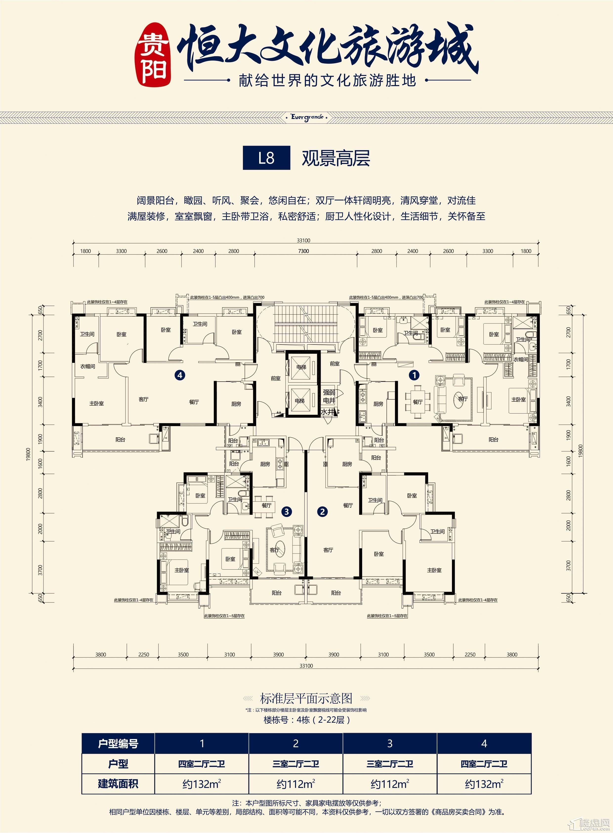 L8-观景高层(4栋)