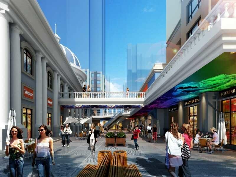 泺亨国际风情商业街