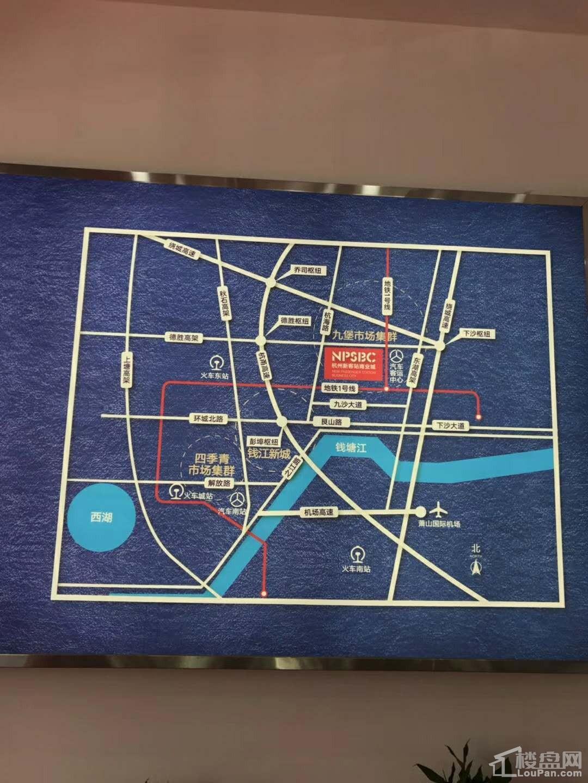 杭州新客站商业城位置图