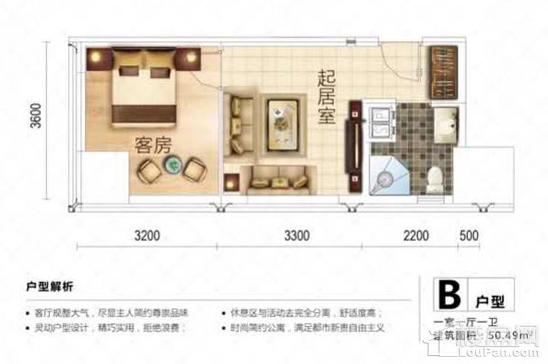 7号楼公寓B户型