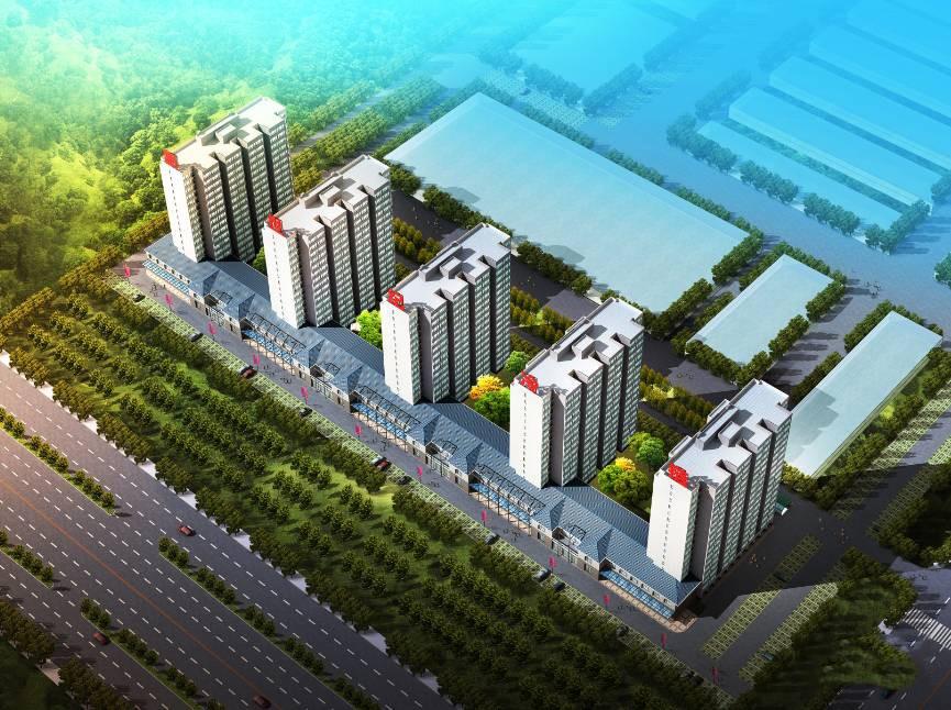 新世纪公寓效果图