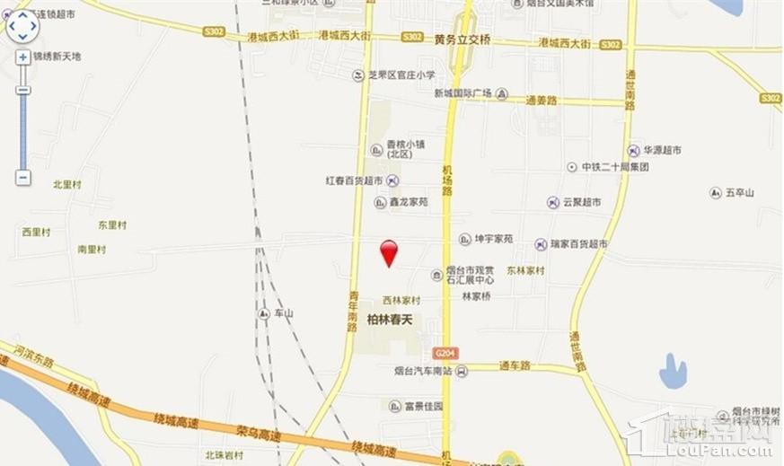 东方盛景位置图