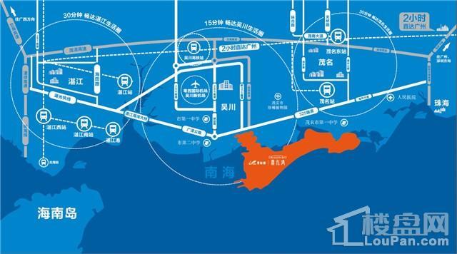碧桂园鼎龙湾位置图