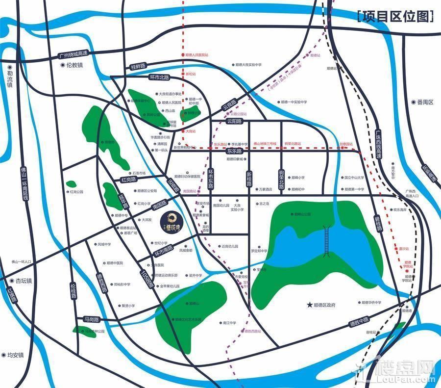中惠璧珑湾位置图