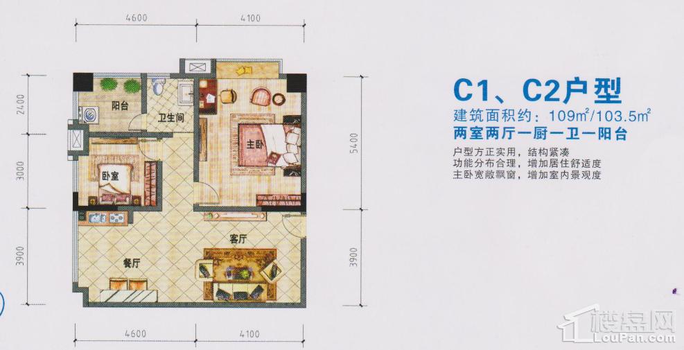 C1,C2户型