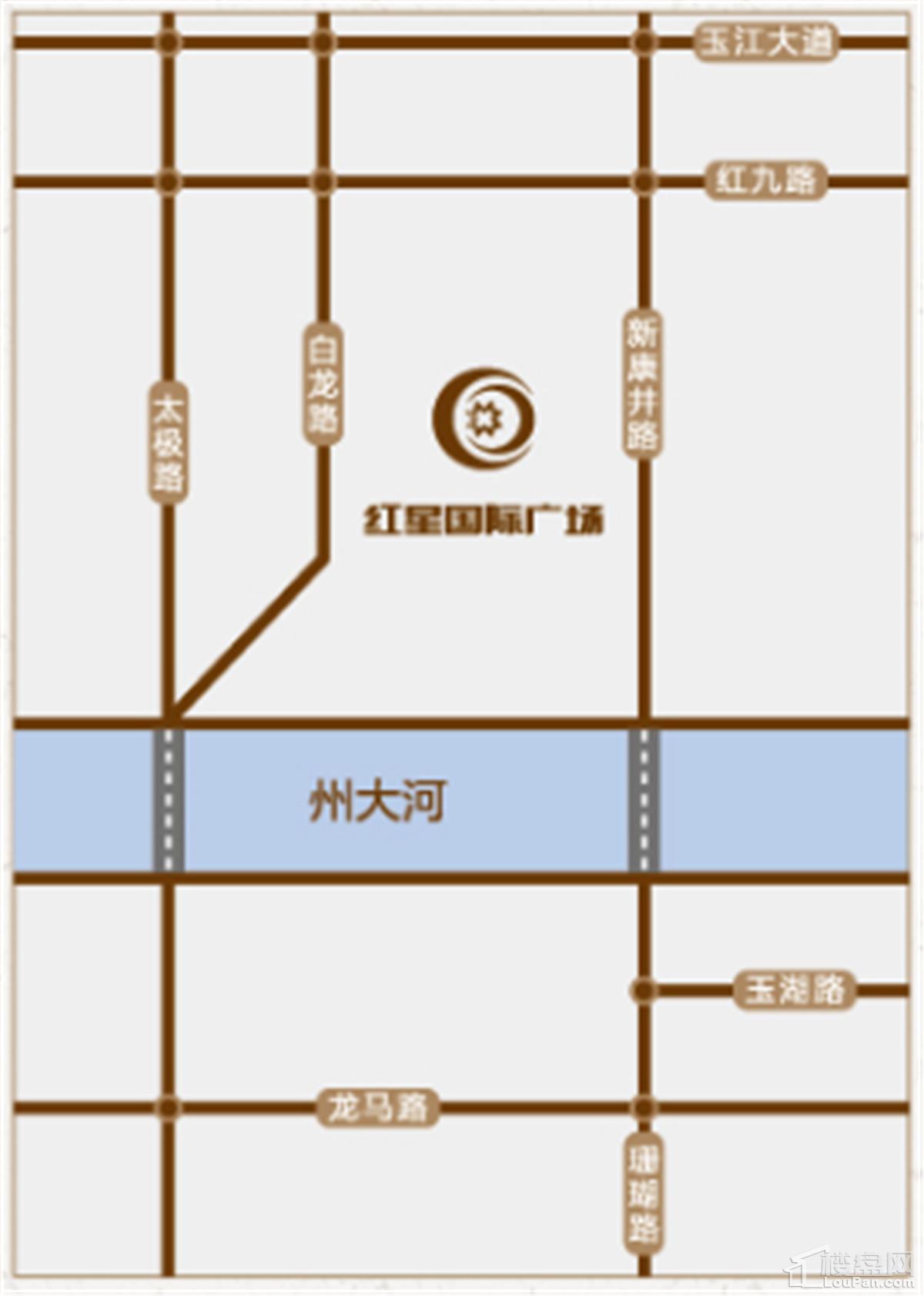 玉溪红星国际广场位置图
