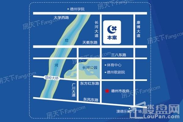 绿城百合广场位置图