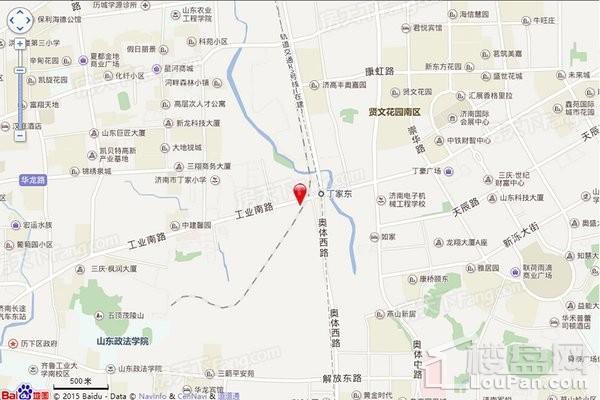 绿地IFC中央公馆位置图