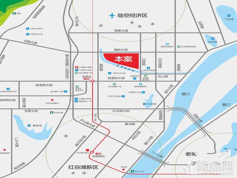 中国铁建青秀城位置图