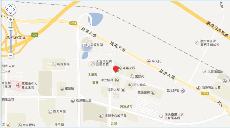 伟业美悦湾位置图