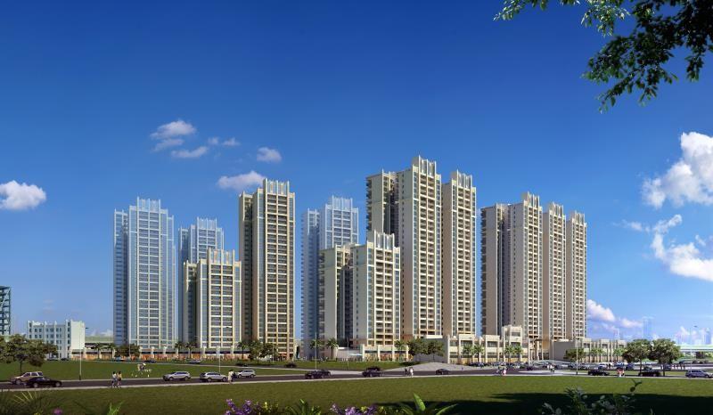 金湘国际城效果图