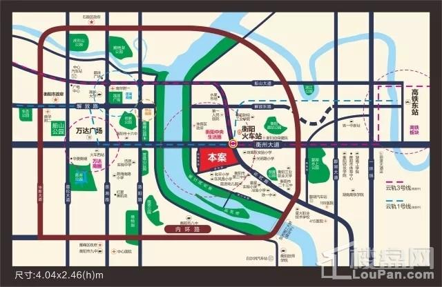 金湘国际城位置图