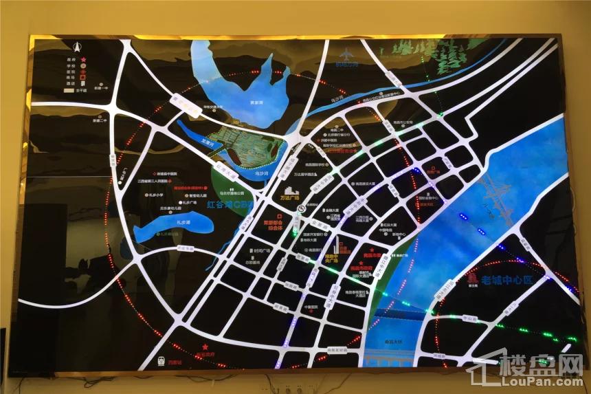 众森红谷一品位置图