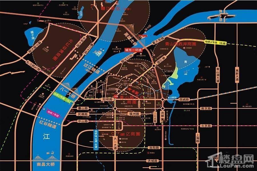 南昌中金国际交易中心位置图