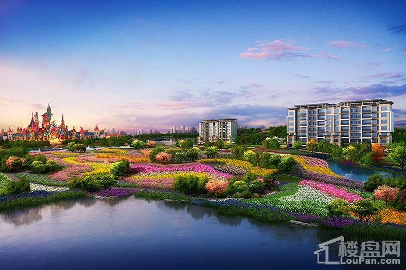 长沙恒大文化旅游城效果图