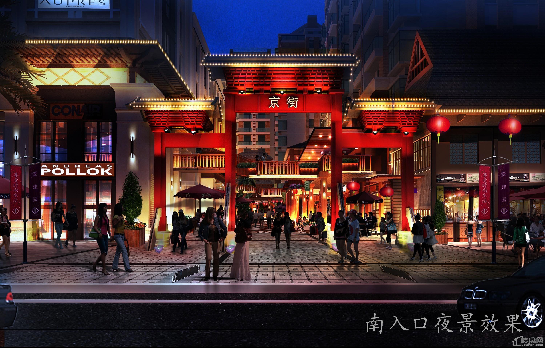 防城港京街高清图