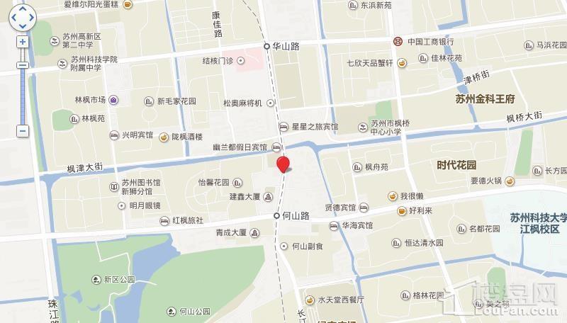 中海苏胥坊位置图