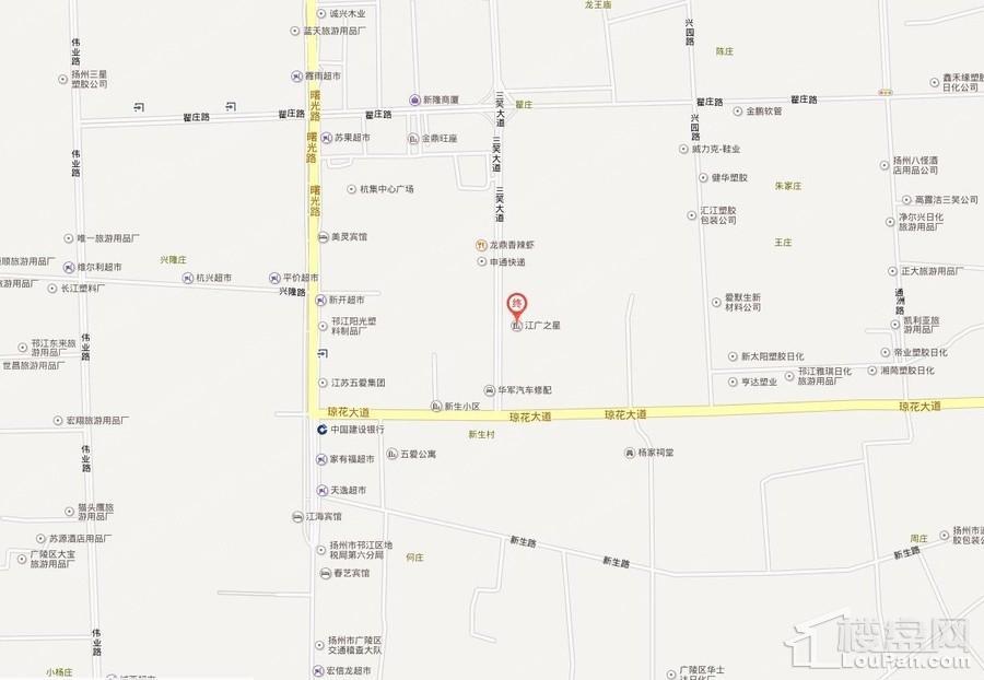 江广之星位置图